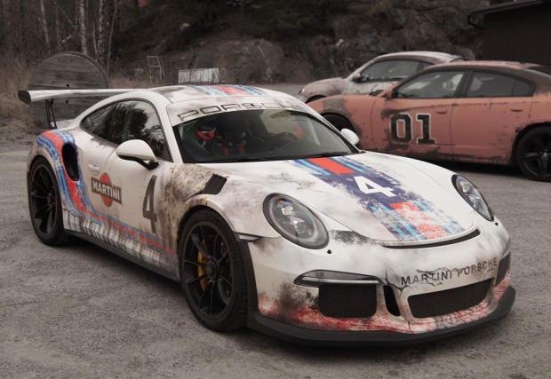"""Martini Porsche 991 GT3 RS: чисто ново, на 20 години. Или готини ли са """"старите"""" лепенки?"""