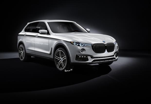 Новото BMW X5. Може да изглежда така