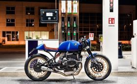 От туринг в кафе: BMW R100 RS според North East Custom