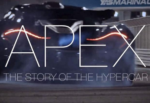 APEX: The Story of the Hypercar. Страхотен филм, който ще промени представите ви и за гравитацията и автомобилната индустрия въобще.....
