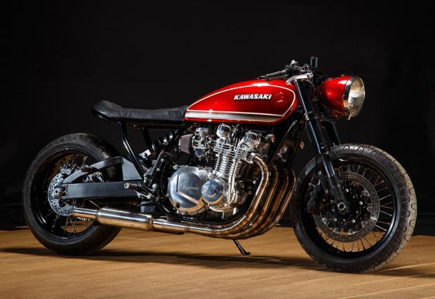 Мощен, стилен и красив. Krakenhead Customs 1981 Kawasaki KZ1000