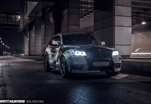 Това нафтово BMW X3 разполага с 550 коня и вдига 100 за 3,6 секунди... Съвсем нормално