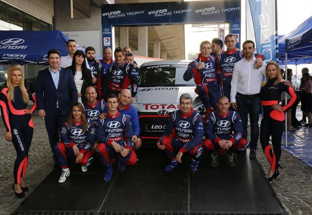 """Hyundai Racing Trophy стартира с рали """"Сибиу"""""""