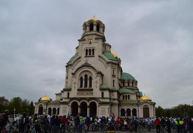 Данчо Йовчев се включи в шествието Аз карам велосипед. Последвайте ме!