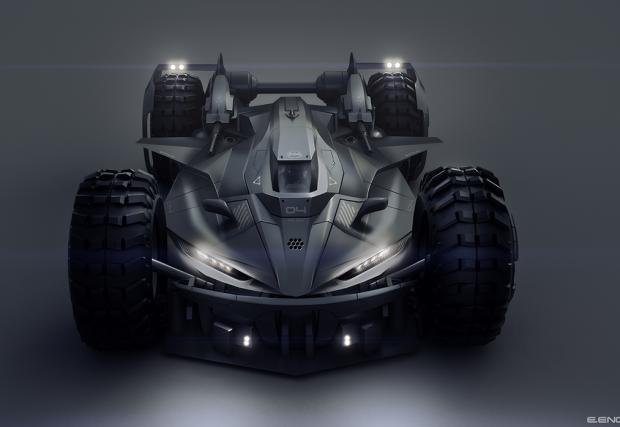 Запознайте се с Батмобилът с етикет Made in BG. Правен е от Енчо Енчев