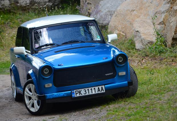Made in Pernik: Trabant 601 RS