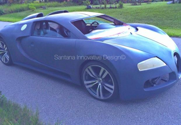 """""""Veyron"""" за 89 000 евро. Не се блъскайте. Псевдо Bugatti-то представлява гримиран Pontiac GTO. И мотор с 8 цилиндъра.... по-малко от оригиналния"""