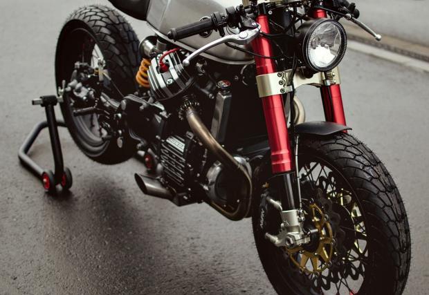 Мотор-мечта. Honda CX500 GTS от Sacha Lakic Design. Снимки и видео