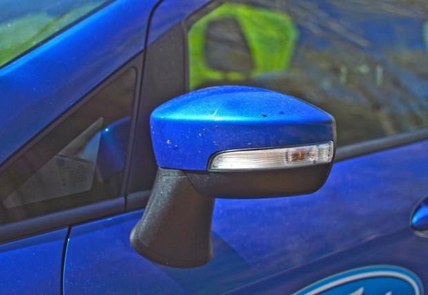 Тест на Ford EcoSport. С раница и колело. Не пропускайте и галерията