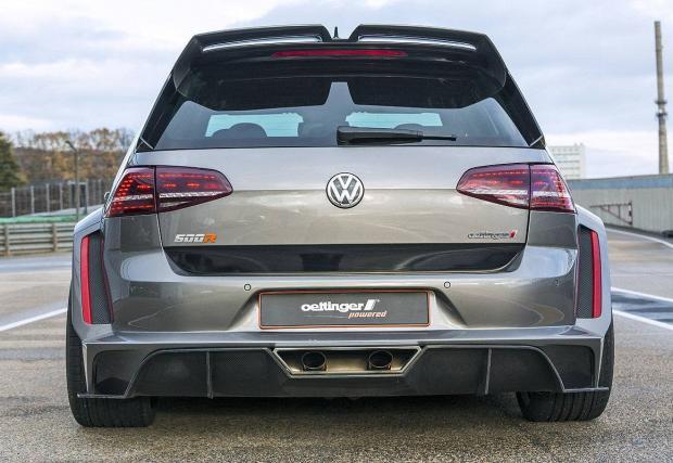 Брутален: 0-100 за 3,4 сек и 518 коня в Golf? Да, Oettinger VW Golf 500R. Който струва 150 000 евро...