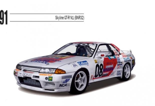 60 години Nissan Skyline и GT-R в 60 секунди. Мега!