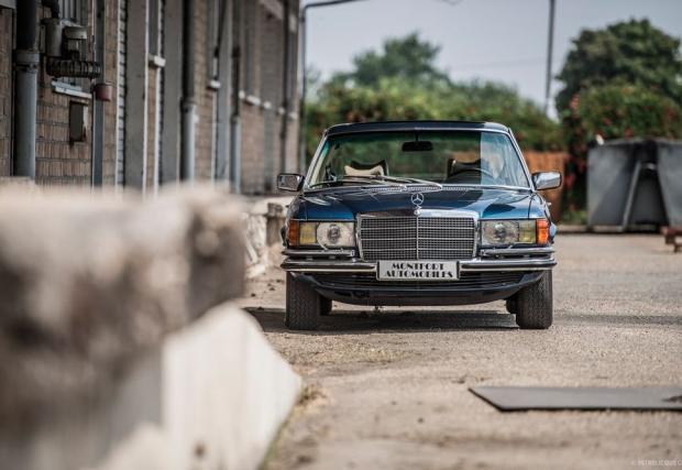 Инженерно постижение. Нека си го припомним: 1977 Mercedes-Benz 450 SEL 6.9