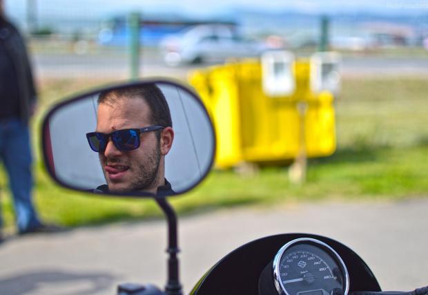 Harley on Tour 2016. Камионът стовари 23 мотора в София, а ние бяхме там. Галерия от събитието и тестовото каране