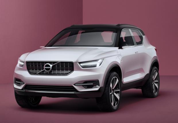 Това е част от бъдещето на Volvo: намигване към XC40 и S40. Любопитно