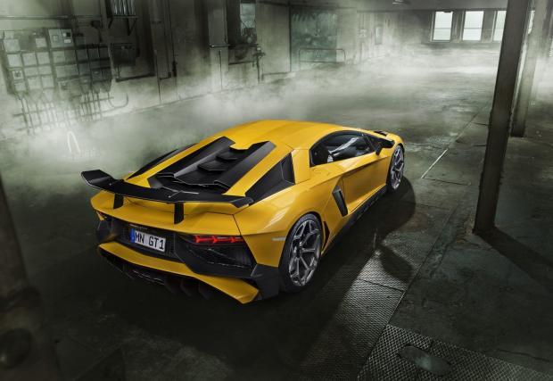 Novitec напомпа Lambo Aventador до 786 коня. Колата вдига сто за 2,8 сек