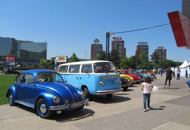 Страстта Volkswagen в няколко кадъра от Белград