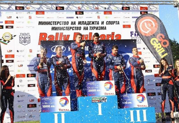 Григоров/Миленков спечели втори кръг на Hyundai Racing Trophy