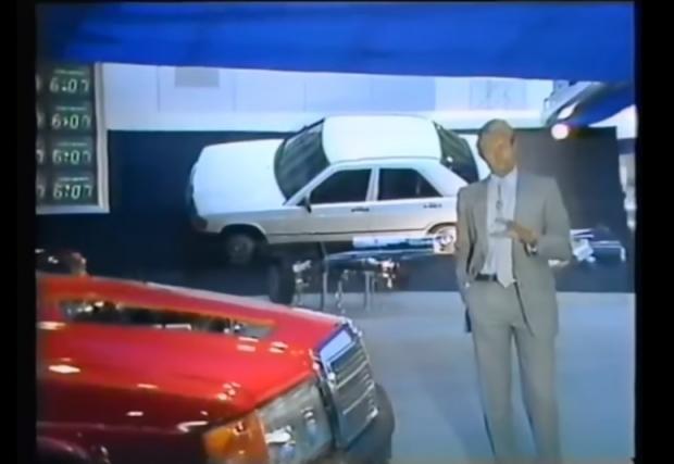 Имало едно време: TopGear и Mercedes-Benz 190. Видео