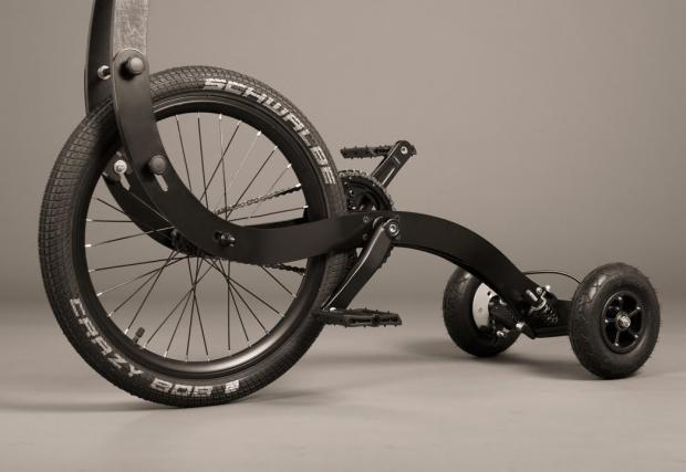 Запознайте се с Halfbike. Може и вече да се познавате, а може би не. Видео