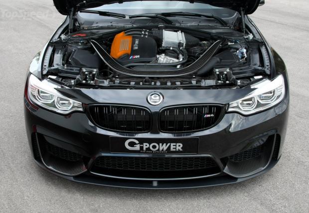 Лятото се очертава ветровито: G-Power напомпа BMW M4 Cabriolet до 600 коня