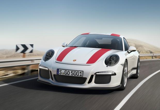 Porsche 911 R с 320 км/ч. По обществената пътна мрежа, абсолютно легално. Видео