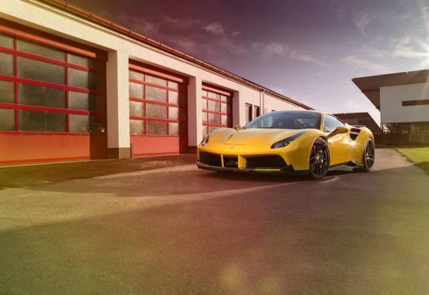 Novitec Rosso Ferrari 488 GTB със 722 коня. Даже и изглежда приятно