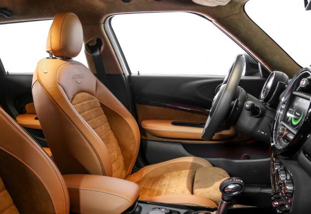 MINI Clubman ALL4, заразен от BMW R nineT Scrambler. Изглежда... яко