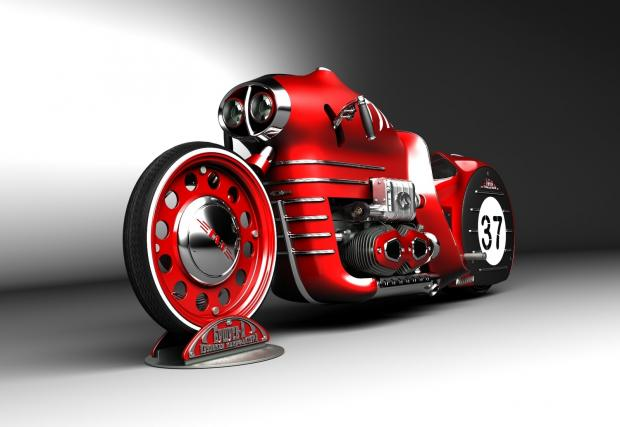 Прекрасен: стиймпънк мотоциклетът ГАЗ ГЛ-2м