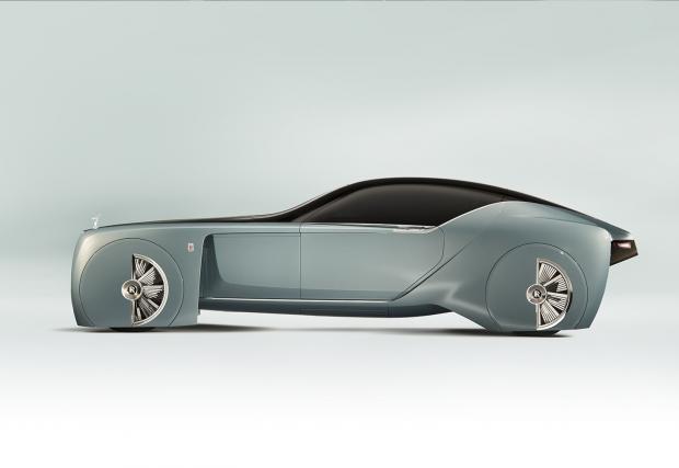 Не всеки ден Rolls-Royce представят нова кола. Днес обаче е такъв ден: откаченият Rolls-Royce Vision Next 100