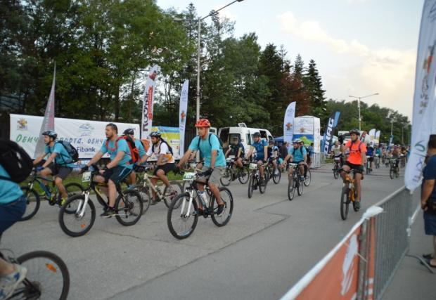 1500 колоездачи стартираха в Обиколката на Витоша