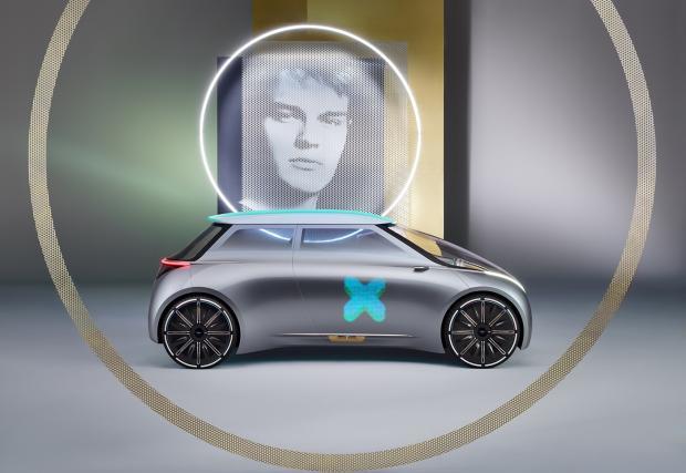 MINI Vision NEXT 100. Третата концепция на BMW Group, по повод следващите сто години. Галерия и видео
