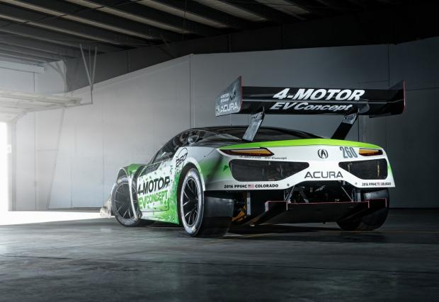 Агресивна екология: Acura атакува Пайкс Пийк с 4x4 електричката NSX