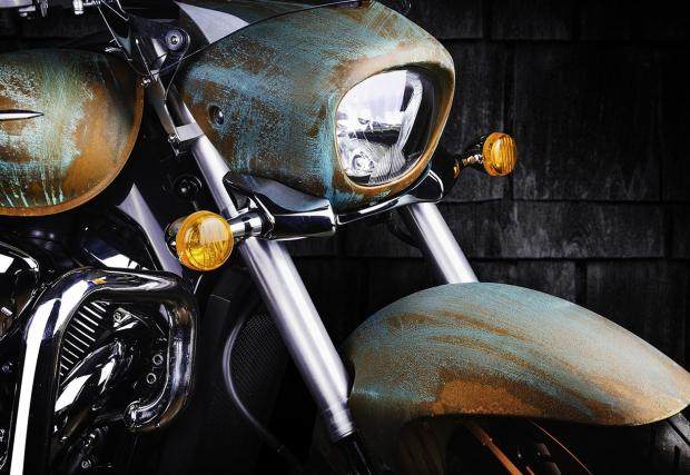 Suzuki Intruder, като произведение на изкуството? Такова е, от Vilner