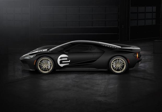 Може би най-яката кола на Ford в момента: GT 66 Heritage Edition