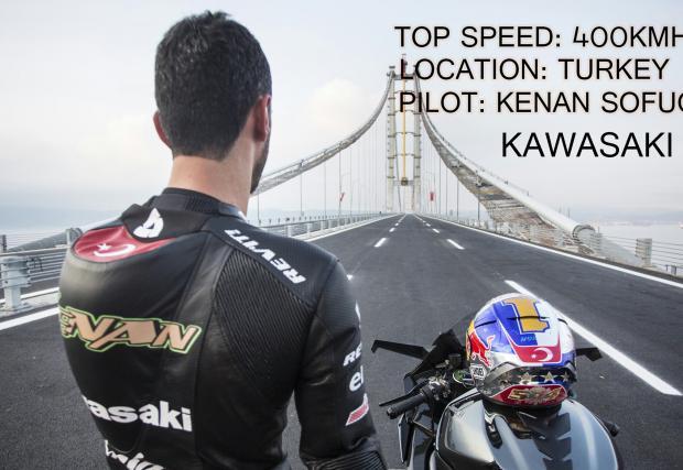 Какво е да караш мотор с 400 км/ч по мост? Бърз видео отговор. Много бърз
