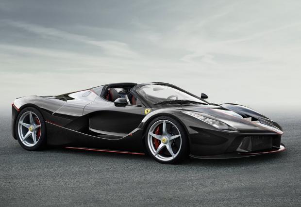 LaFerrari Aperta: най-мощното открито Ferrari, което не може да си купите