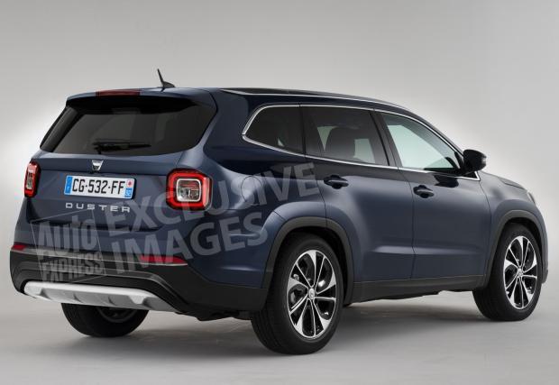 Добри новини! Това е новата Dacia Grand Duster!