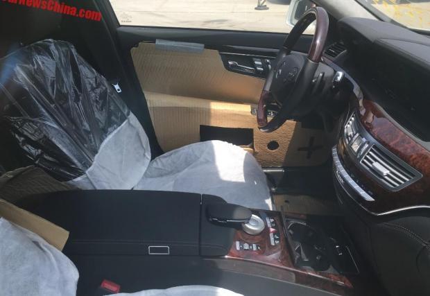 Жалко за колите. Пет чисто нови Brabus Merc S-Class зарязани в Китай
