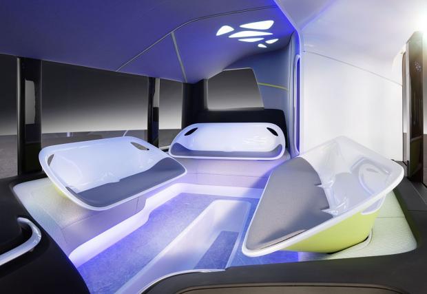 Mercedes-Benz показва как ще изглежда столичният автобус №72 след десет години. Дали?