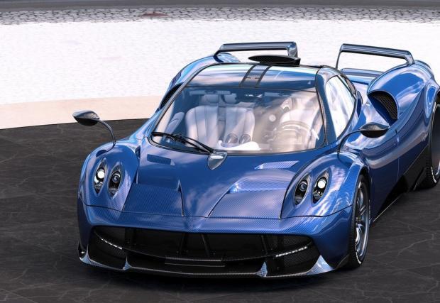 Pagani Huayra Pearl вече не е толкова лъскава... Съществуващата в една единствена бройка кола вече съществува на части...