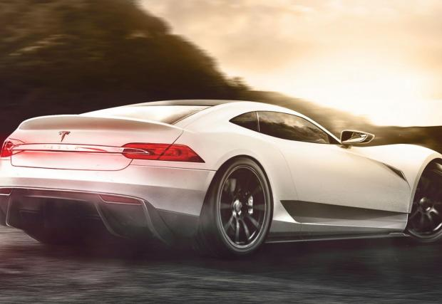 Tesla Model R: когато Илон Мъск погне Ferrari, McLaren, Lambo и компания