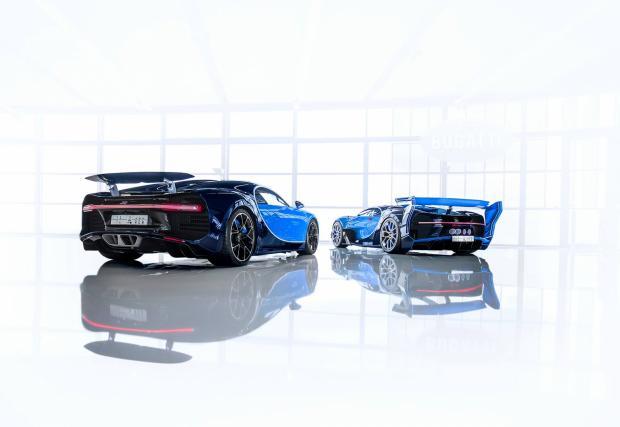 Принц си купи бруталния прототип Bugatti Vison Gran Turismo. Опаковаха му го и с един Chiron...