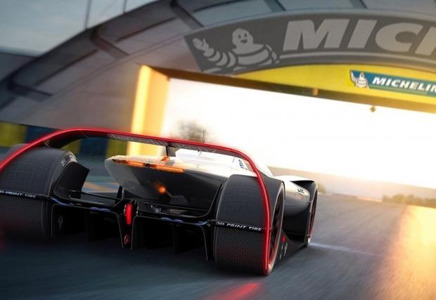 Възхитителен: проротипът на Mercedes-Benz за Льо Ман. Нереален, буквално