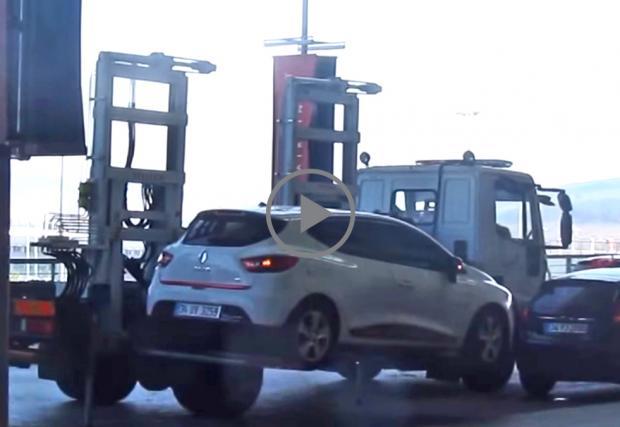 Турция не си губят времето, репатрират ви колата за под минута. Видео