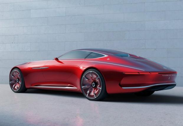 Mercedes-Maybach 6 е огромна летяща чиния!