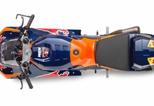 """""""Стоманеният"""" MotoGP байк на KTM изглежда различен и супер як: KTM RC16 идва с V4 и 270 коня"""