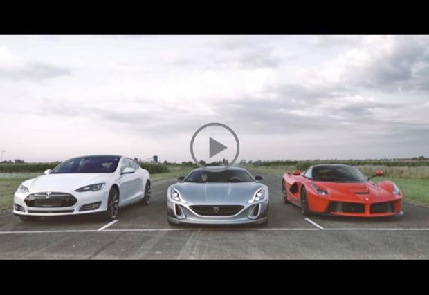 По-добри ли са хърватите от LaFerrari и Tesla. Rimac Concept One е мноооооого бърз, но дали достатъчно?. Видео