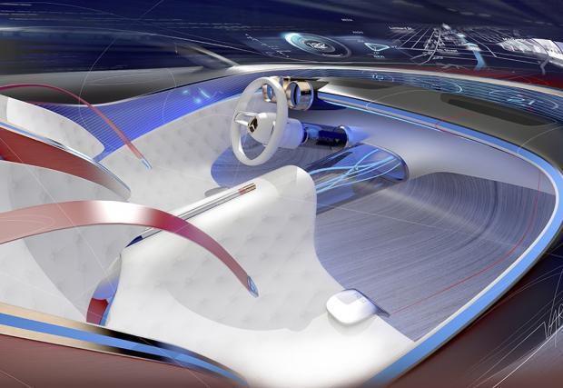 Официален: Vision Mercedes-Maybach 6 дойде с 750 ел. коня и седалки, разпознаващи дрехите ви... Всичко, което трябва да знаете за тази изумителна кола