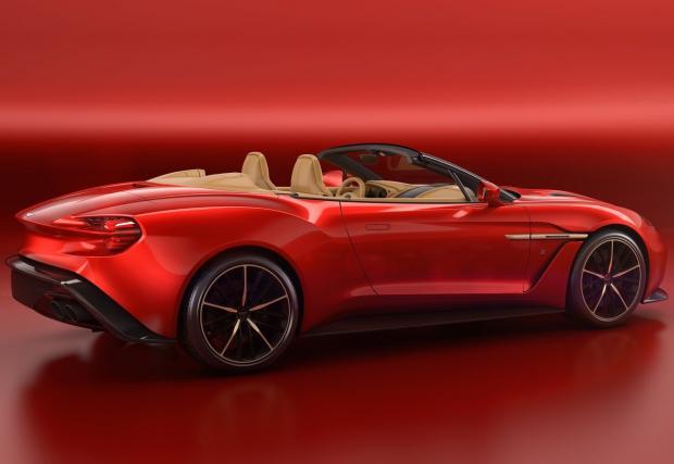 Красавица без горнще: Aston Martin Vanquish Zagato Volante