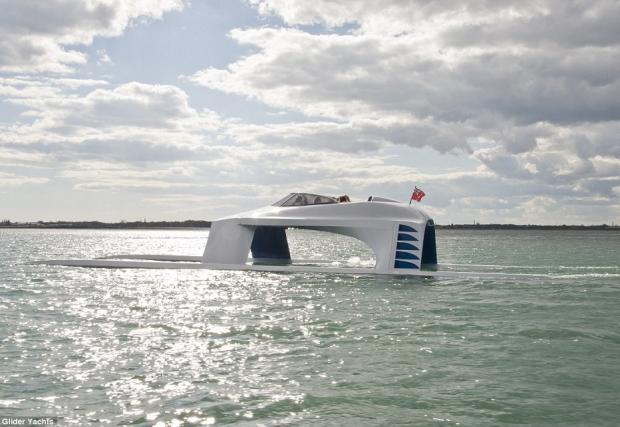 Ново измерение в света на луксозните лодки, морския еквивалент на Bugatti Veyron Super Sport? Потресаващата Glider Yachts SS18. Видео